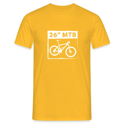 26 MTB 1C Cut - Männer T-Shirt