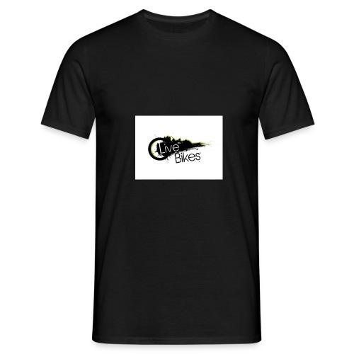fahr oder stirb logo - Männer T-Shirt