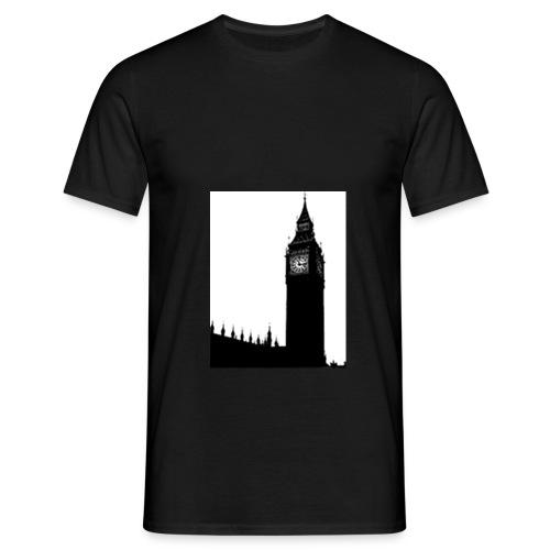 Big ben Silhouette jpeg - Men's T-Shirt