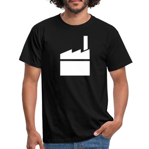 Voimatehtaan t-paita - Miesten t-paita