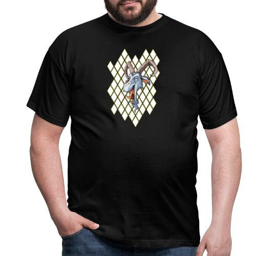 blauer bock - Männer T-Shirt