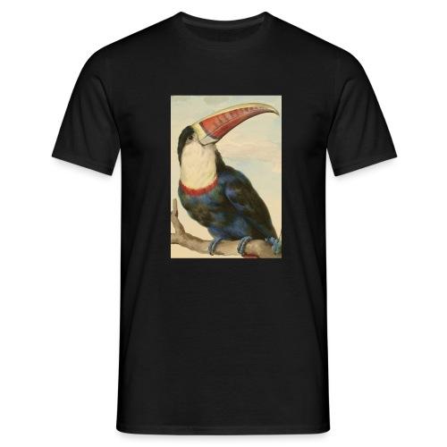 TOUCAN A BEC ROUGE - T-shirt Homme