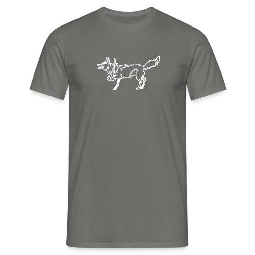 lame fox bw png - Männer T-Shirt