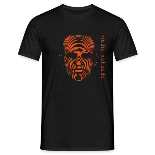 medicineheads_logo_neg - T-skjorte for menn