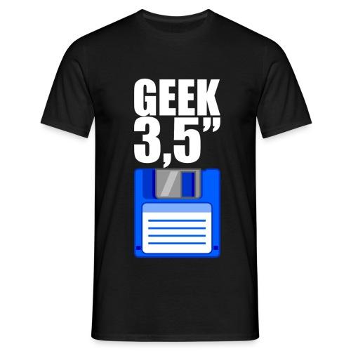 Disquette 3,5 pouces GEEK - blanc - T-shirt Homme