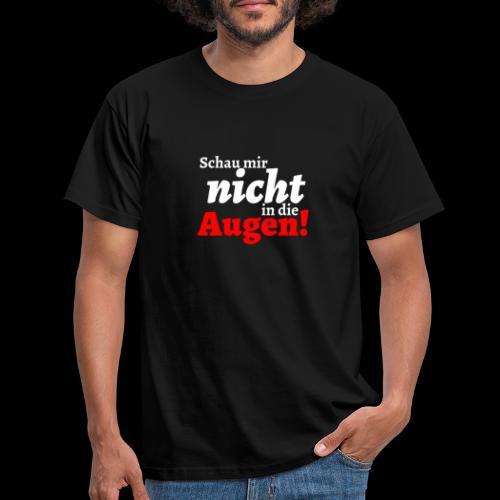 AUgenschAU - Männer T-Shirt