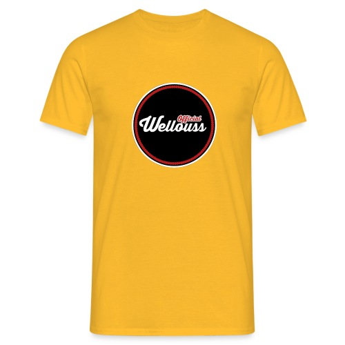 Wellouss Fan T-shirt | Rood - Mannen T-shirt