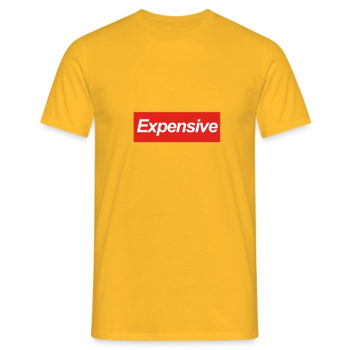 Expensive Shirt - Mannen T-shirt