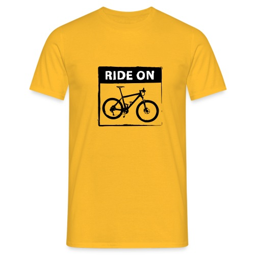 Ride On MTB - 2C - Männer T-Shirt