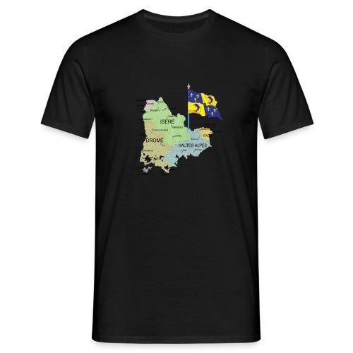drapeau province dauphine jpg png - T-shirt Homme