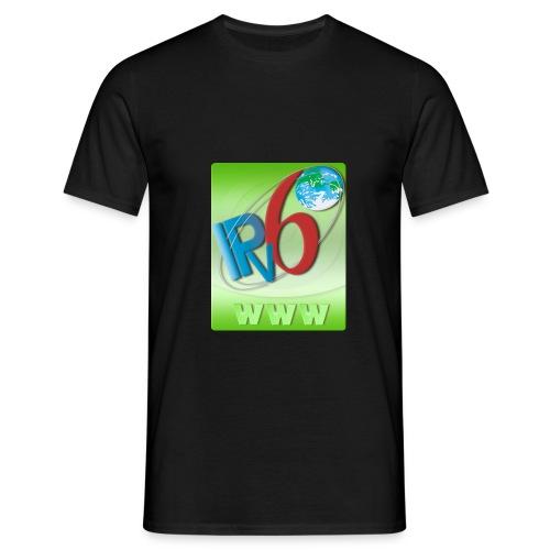 ipv6 www logo green - Men's T-Shirt