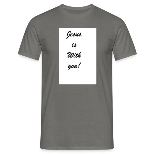 jesus - Männer T-Shirt