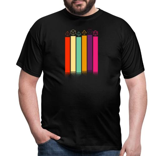 70s Dice - Men's T-Shirt