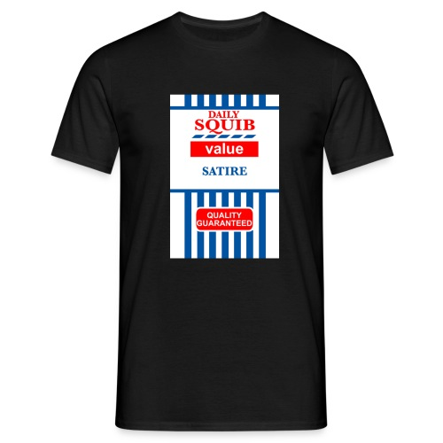 squibredvaluetshirtbig - Men's T-Shirt