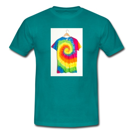 tie die small merch - Men's T-Shirt