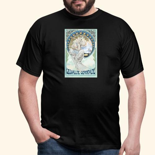 Gequallde Geschdalde - Männer T-Shirt