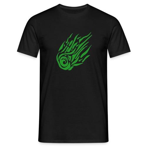 Komet_Logo_groß - Männer T-Shirt