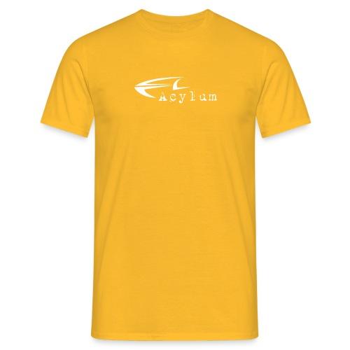 Acylum White - Men's T-Shirt