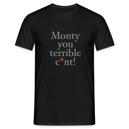 monty - Men's T-Shirt