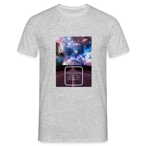 Vuela hasta el espacio - Camiseta hombre