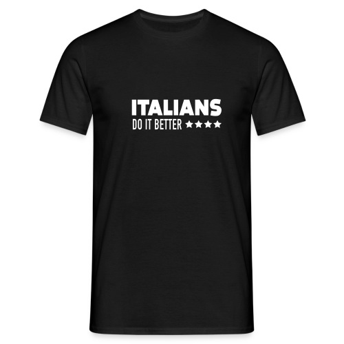 Italians Do It Better Blanc - T-shirt Homme