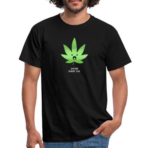 Smoke Every Day - Männer T-Shirt