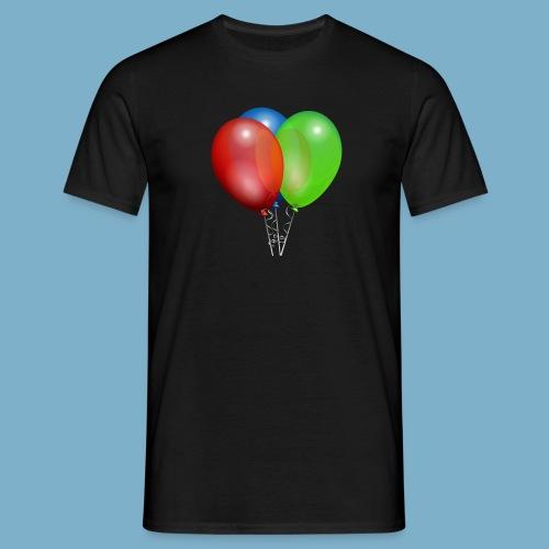 Luftballons - Männer T-Shirt