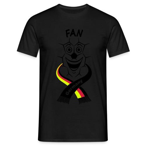 fan schal m bk 14 cut - Männer T-Shirt