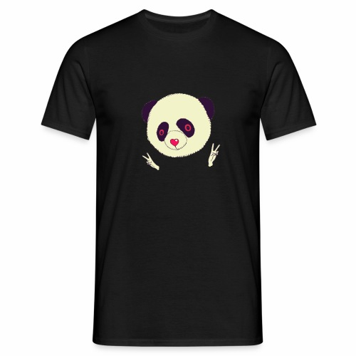 panda bear - Camiseta hombre
