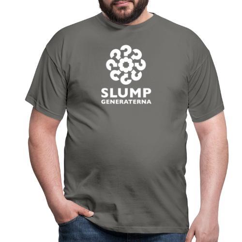 Slumpgeneraternas partisymbol (vit) - T-shirt herr