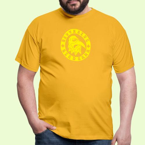 YELLOW EAGLE LOGO - Miesten t-paita