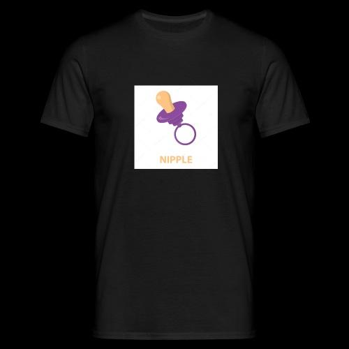 Nipple speen - Mannen T-shirt