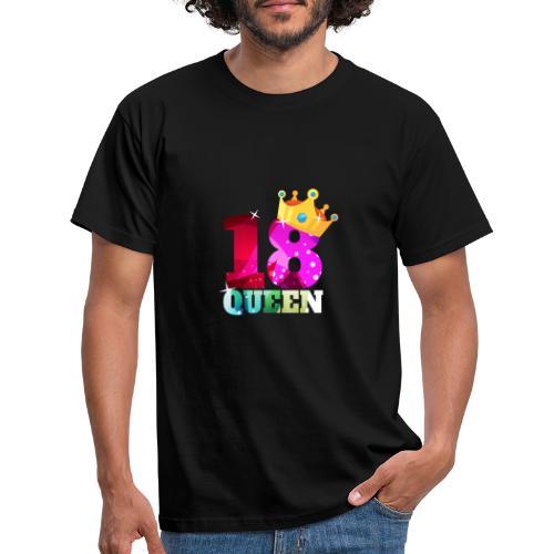 18. Geburtstag Queen - Männer T-Shirt