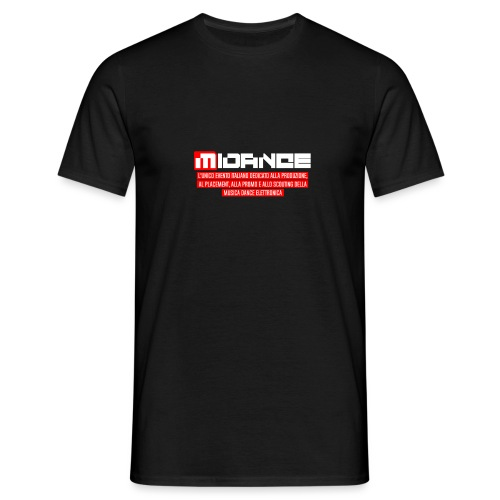 Midance banner scritta bianca 2019 - Maglietta da uomo