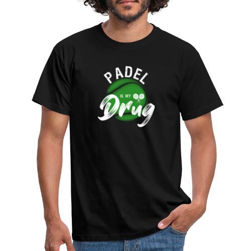 Padel Är Min Drog, Present Till Padelälskaren - T-shirt herr