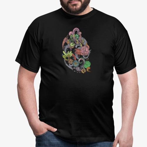 Flower Power - Rough - T-shirt herr