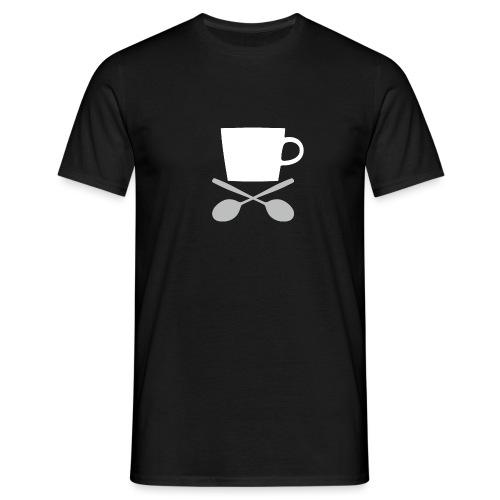 Coffee till I die - Mannen T-shirt