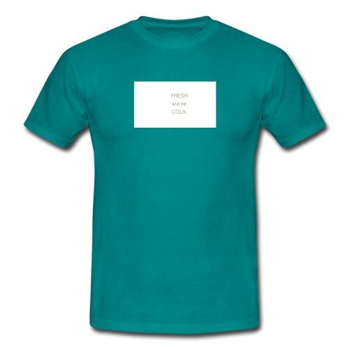 fresh wie ne cola - Männer T-Shirt
