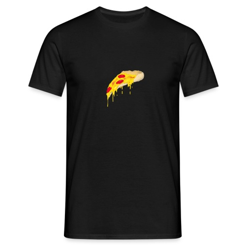 Svævende Pizza. - Herre-T-shirt