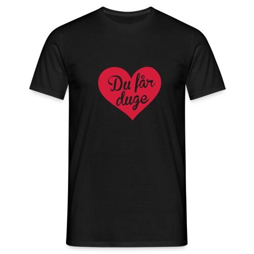 Ekte kjærlighet - Det norske plagg - T-skjorte for menn