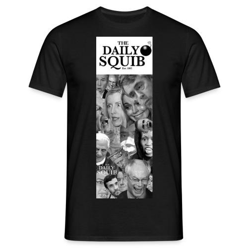 dailysquib2bannerlogobig - Men's T-Shirt
