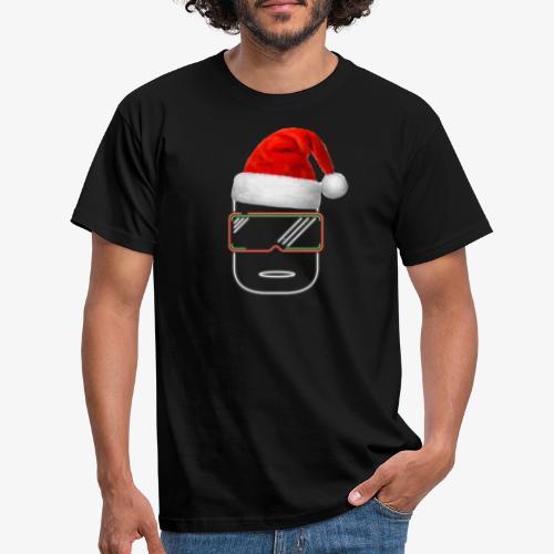 Die Zock Stube - Robot-Head Christmas - Männer T-Shirt