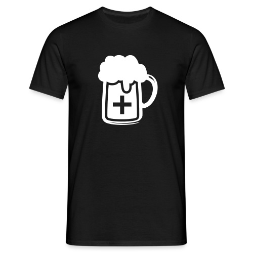 Pharmacie Biere blanc - T-shirt Homme