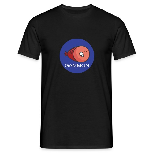 gammon design - Men's T-Shirt