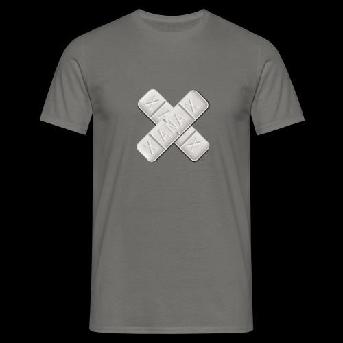 Xanax X Logo - Männer T-Shirt
