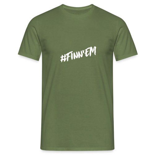 Finn'EM logo - Miesten t-paita