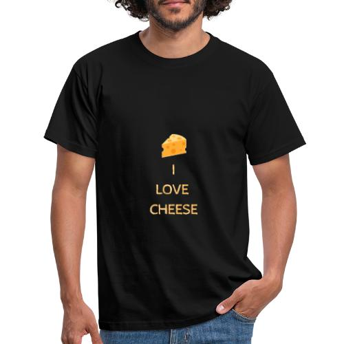 I Love CHESSE - T-shirt Homme