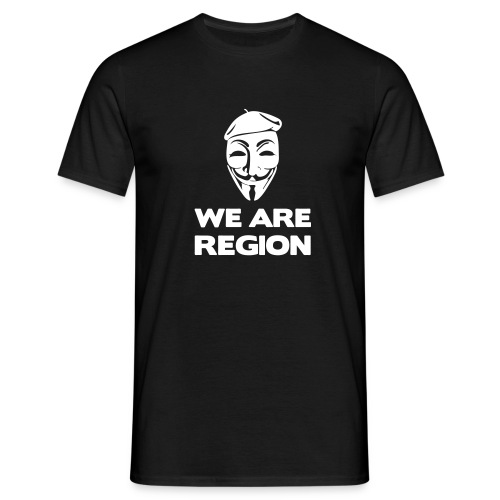 We Are Region - T-shirt Homme