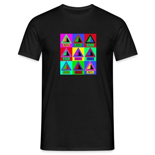 Abgrund Mosaik jpg - Männer T-Shirt