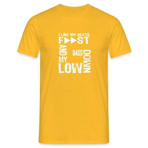 bass down low gfm - Men's T-Shirt
